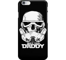 """Funny Mask Gas Skull """"Who's Your Daddy"""" new iPhone Case/Skin"""