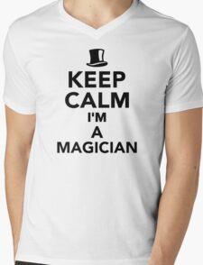 Keep calm I'm a Magician Mens V-Neck T-Shirt