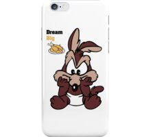 Funny Baby Wiley Coyote Dream Big New iPhone Case/Skin