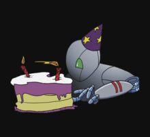 robot's second birthday by agliarept