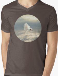 Free Falling Dream Mens V-Neck T-Shirt