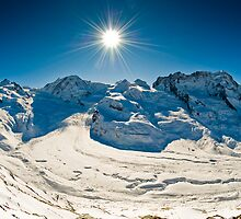 Panorama from Gornergrat by peterwey