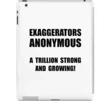 Exaggerators Anonymous iPad Case/Skin
