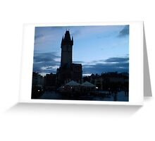 Old Town Square in Prague, Czech Republic Greeting Card