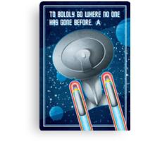 Star Trek - To Boldly Go Canvas Print