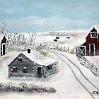 The Frozen Plains by cruserart