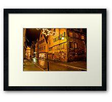 Tübingen at Christmas 5 Framed Print