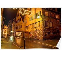 Tübingen at Christmas 5 Poster