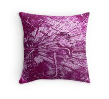 S is for Staple Throw Pillow