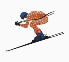 Alpine Skier by Louise Norman