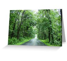 Pennsylvania Summer Road  Greeting Card