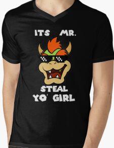Mr. Steal Yo' Girl. Mens V-Neck T-Shirt