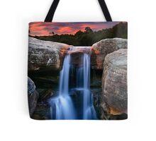Sunset Cascade Tote Bag