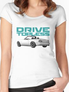 Drive Topless Women's Fitted Scoop T-Shirt