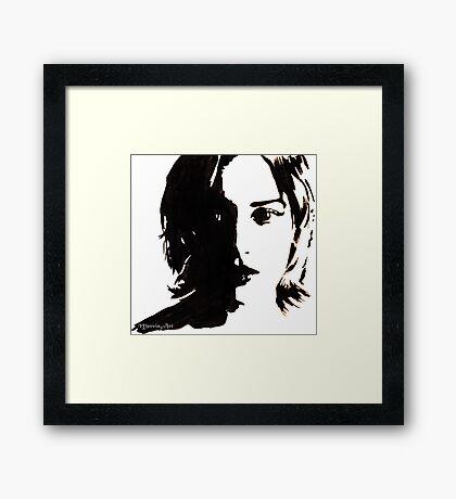 Kate Winslet Framed Print