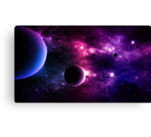 Best Galaxy background. Cosmic. Canvas Print