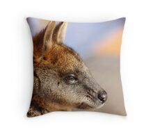 Orphan Wallaby Throw Pillow