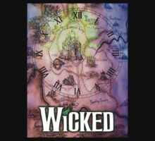 Wicked the musical OZ map T-Shirt