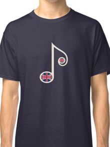 UK Music Note Classic T-Shirt