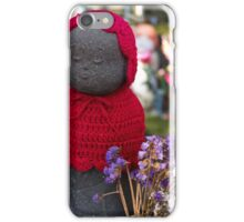 Red remembrance, Tokyo Japan iPhone Case/Skin