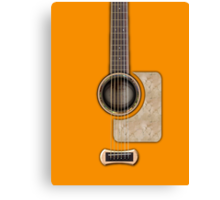 Acoustic guitar parts  Canvas Print