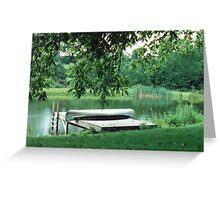 Summer at the Pond Greeting Card