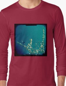 Blossom on blue Long Sleeve T-Shirt