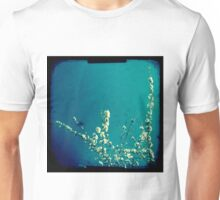 Blossom on blue Unisex T-Shirt