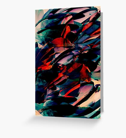 Flapjack abstract Greeting Card
