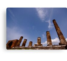 Italian Ruins Rome and Pompeii Canvas Print