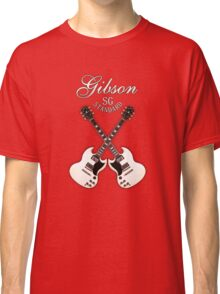 Double Gibson sg white Classic T-Shirt