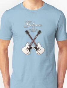 Double Gibson sg white T-Shirt
