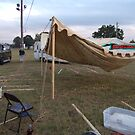 Setting Up for 2008 POW WOW by richardredhawk