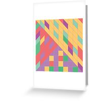 Geometric Slant Greeting Card