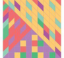 Geometric Slant Photographic Print