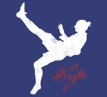 Dare To ZlatanTaekwondo Kick New by Fatbuldog