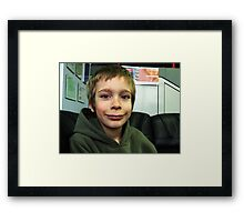 Happy Boy:) Framed Print