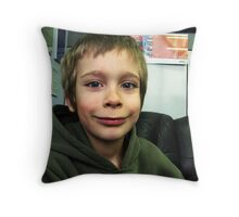 Happy Boy:) Throw Pillow