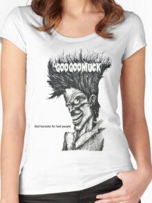 Bad Karaoke Women's Fitted Scoop T-Shirt