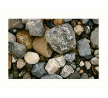 Rocks and Stones in Donegal Art Print