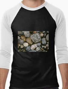 Rocks and Stones in Donegal Men's Baseball ¾ T-Shirt