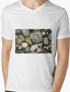 Rocks and Stones in Donegal Mens V-Neck T-Shirt