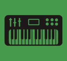 Keyboard piano Kids Tee