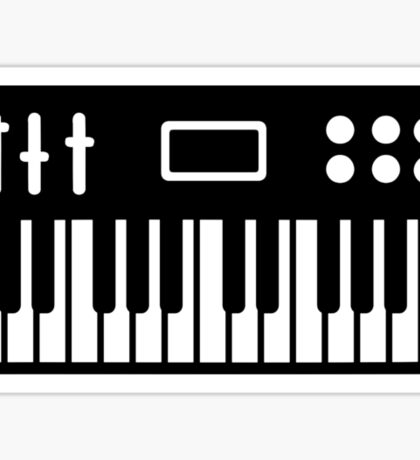 Keyboard piano Sticker