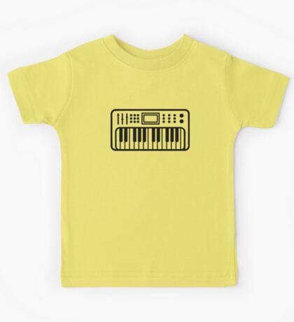 Keyboard piano Instrument Kids Tee