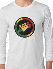 Rasta bass  Long Sleeve T-Shirt