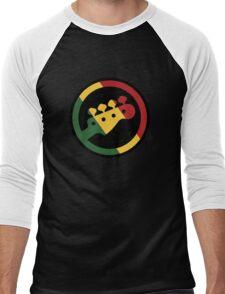 Rasta bass  Men's Baseball ¾ T-Shirt