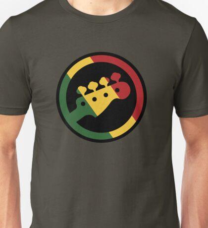 Rasta bass  Unisex T-Shirt