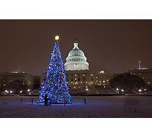 Have Yourself a Capitol Christmas Photographic Print