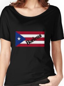 Boricua T-Shirt Women's Relaxed Fit T-Shirt
